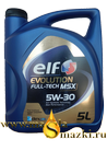 ELF EVOLUTION FULLTECH  MSX 5W30 5L