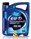 ELF PERFORMANCE EXPERTY FE 5W30 5L