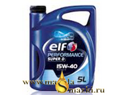 ELF PERFORMANCE SUPER D 15W40 5L
